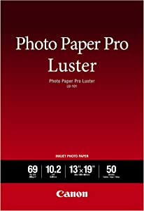 Canon Luster Photo Paper, 13