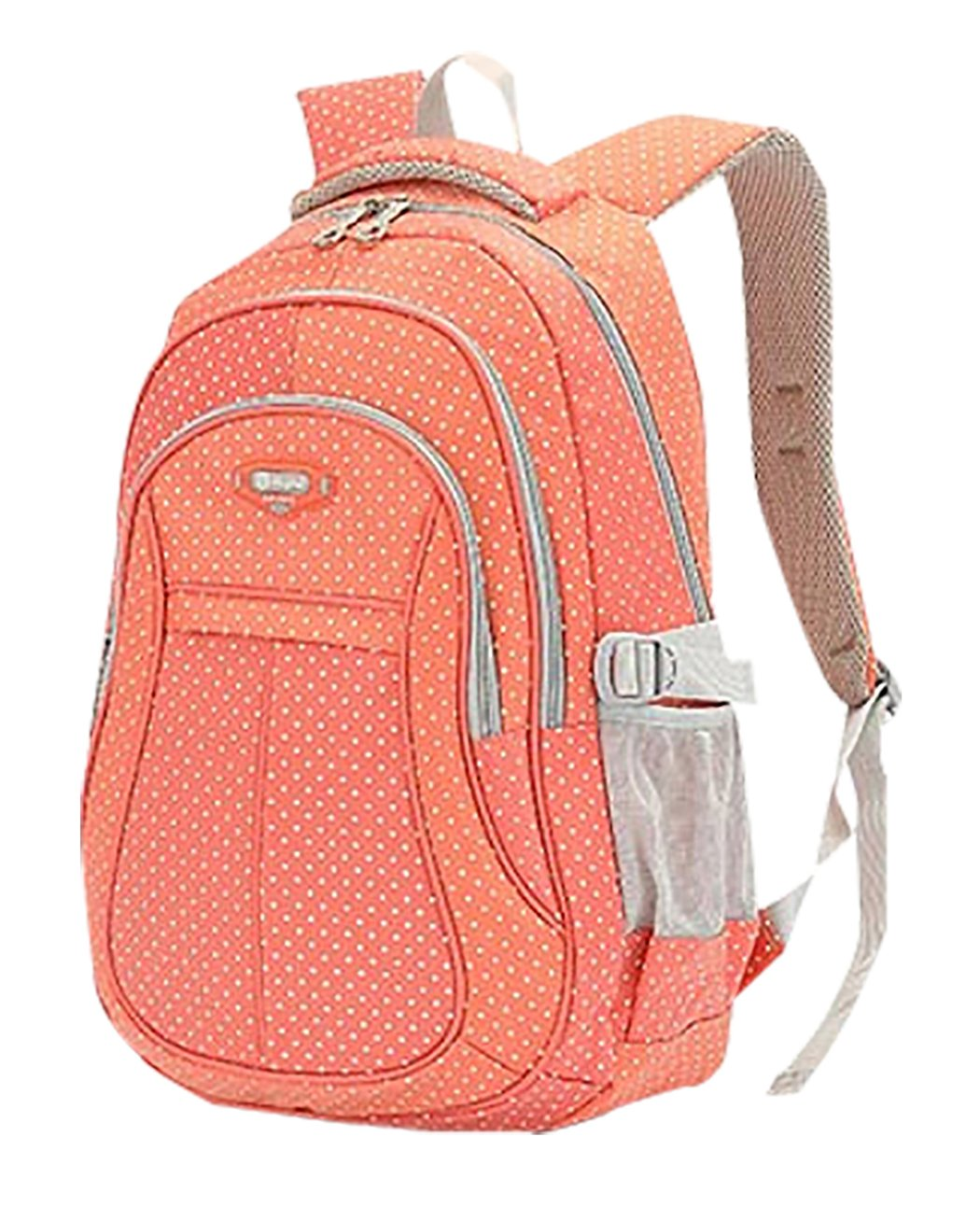 [JiaYou]JiaYou Kid Child Multipurpose Dot Backpack School Bag USXB106D1 [並行輸入品] B013LO8HVU Orange Large