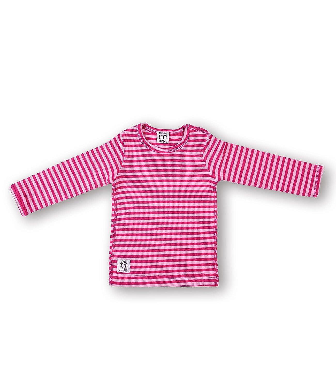 Pippi T-Shirt LS W.Buttons O.Shoulder - Blusa Bebé-Niños 1449