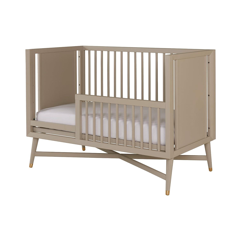 Amazon Com Dwellstudio Mid Century Crib In French Grey Baby