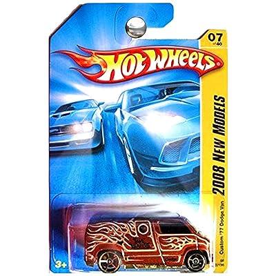 Hot Wheels 2008 New Models 1977 Custom Dodge Van Copper Brown: Toys & Games