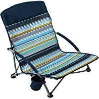 Pacific Pass Low Profile Beach Chair with Carry Bag