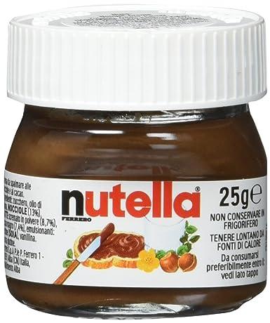Nutella Minis 24 Kleine Gläser à 25 G Zum Gestalten Eines Adventskalenders 600 G