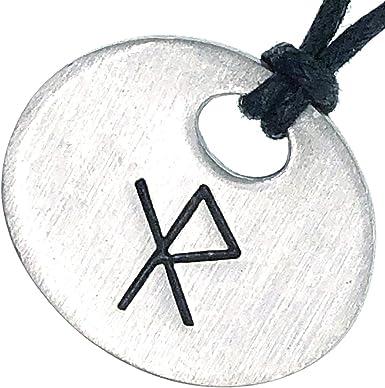 Viking Bind Ruin Stone Necklace