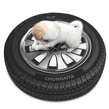 pidsen colchón cama inflable cojín para perro gato animales de flotador piscina Epais, diseño de neumático: Amazon.es: Productos para mascotas