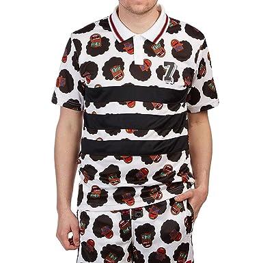80355409e2a3d Amazon.com: Adidas Nakel Jersey Mens White: Clothing