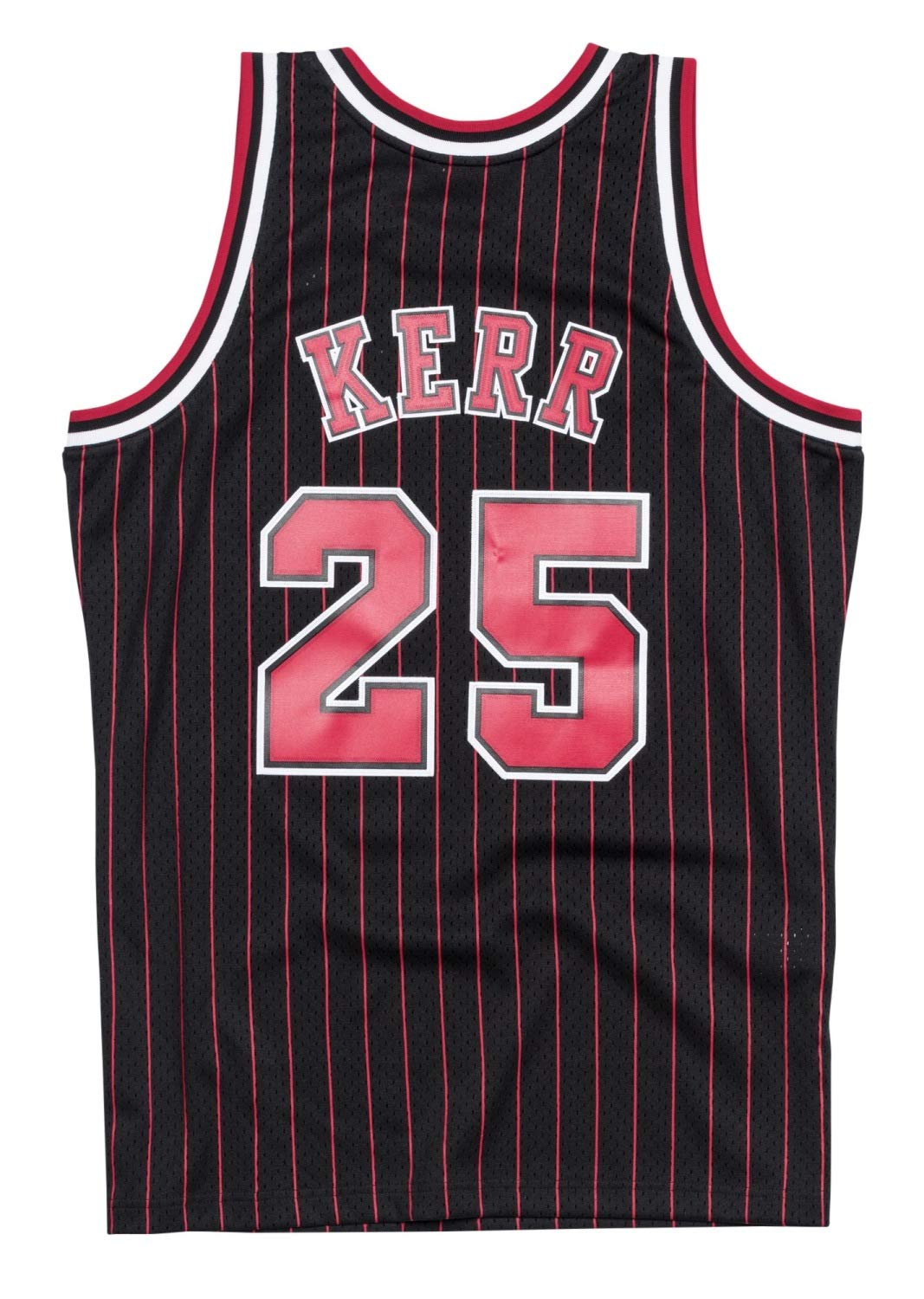 Amazon.com   Steve Kerr Chicago Bulls Mitchell and Ness Men s Black  Throwback Jesey   Sports   Outdoors 38865ba39