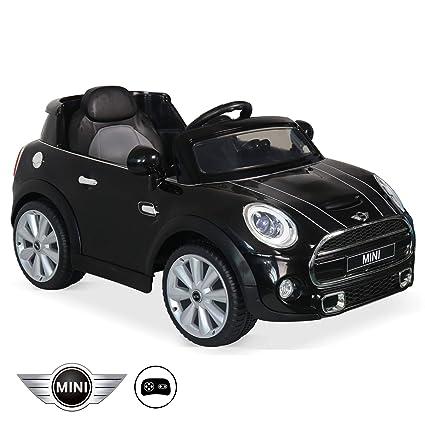 voiture electrique mini cooper 12v rose