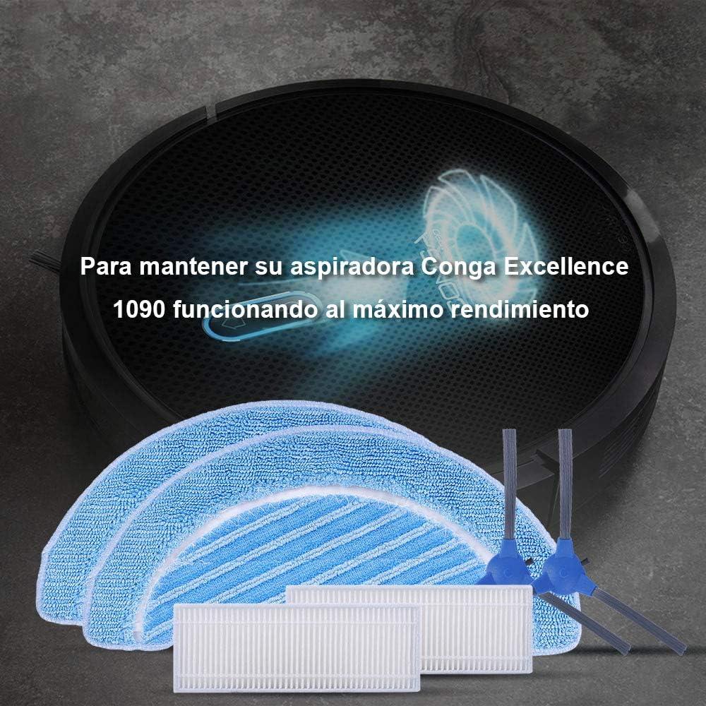 KEEPOW Recambios para Cecotec Conga Excellence 1090 Robot ...