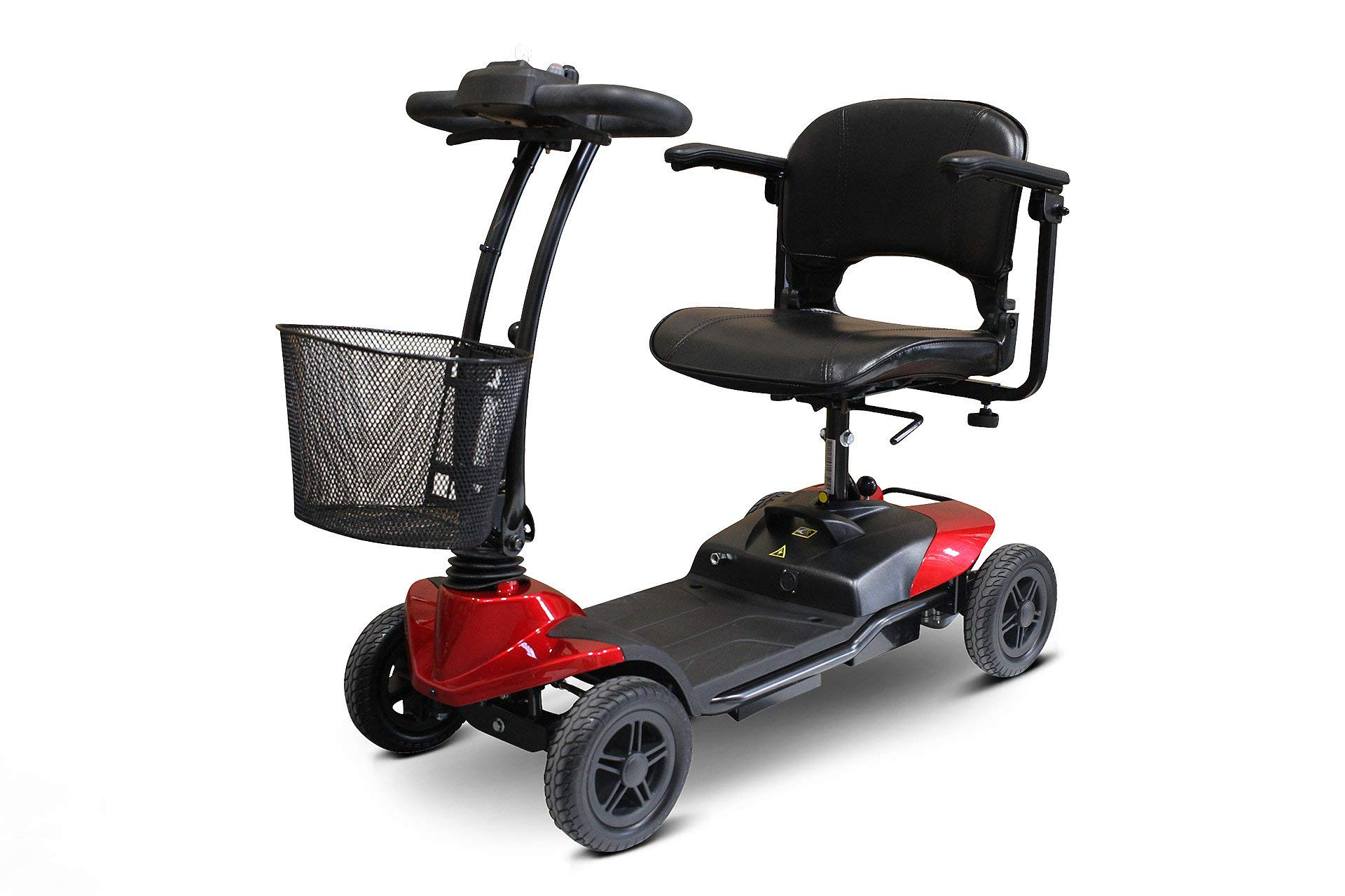 New EWheels Medical EW-M35 Lightweight 4-Wheel Red Scooter by eWheels