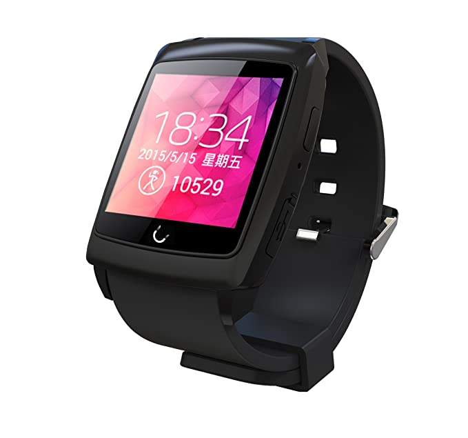 Amazon.com: Uwatch U18 Reloj de pulsera bluetooth para ...