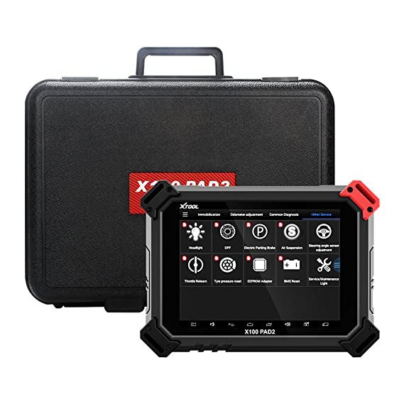 XTOOL X100 PAD2 OBDII Diagnostic Tool Full System Auto Key Programmer Free Update Car Key IMMO ABS/SRS/EPB/Oil Reset/SAS/DPF