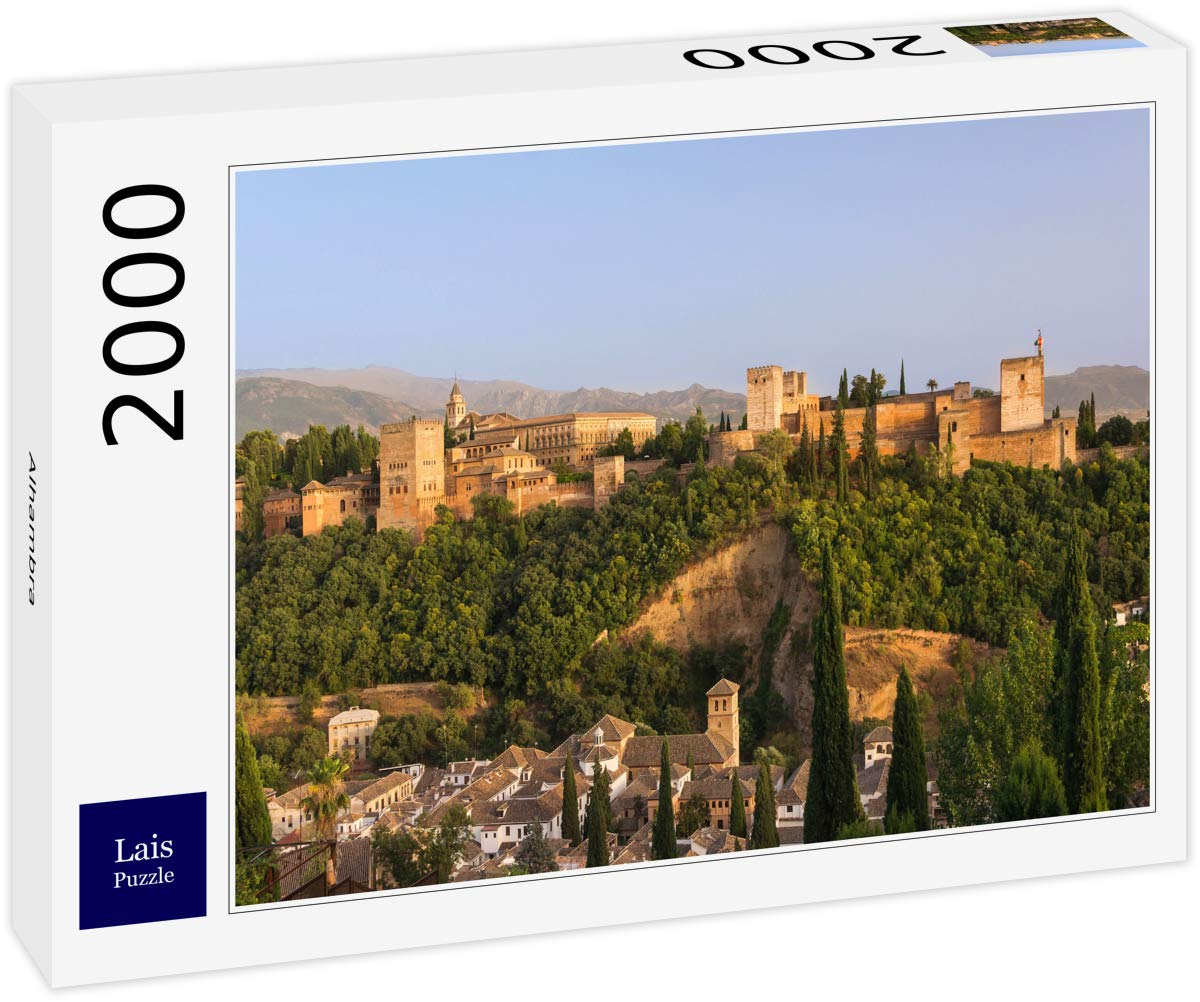 Lais Puzzle Alhambra 2000 Piezas: Amazon.es: Juguetes y juegos
