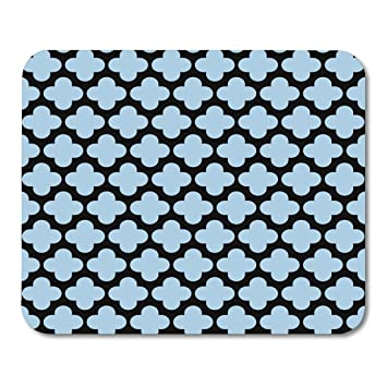 Amazon Com Nakamela Mouse Pads Line Abstract Light Blue On