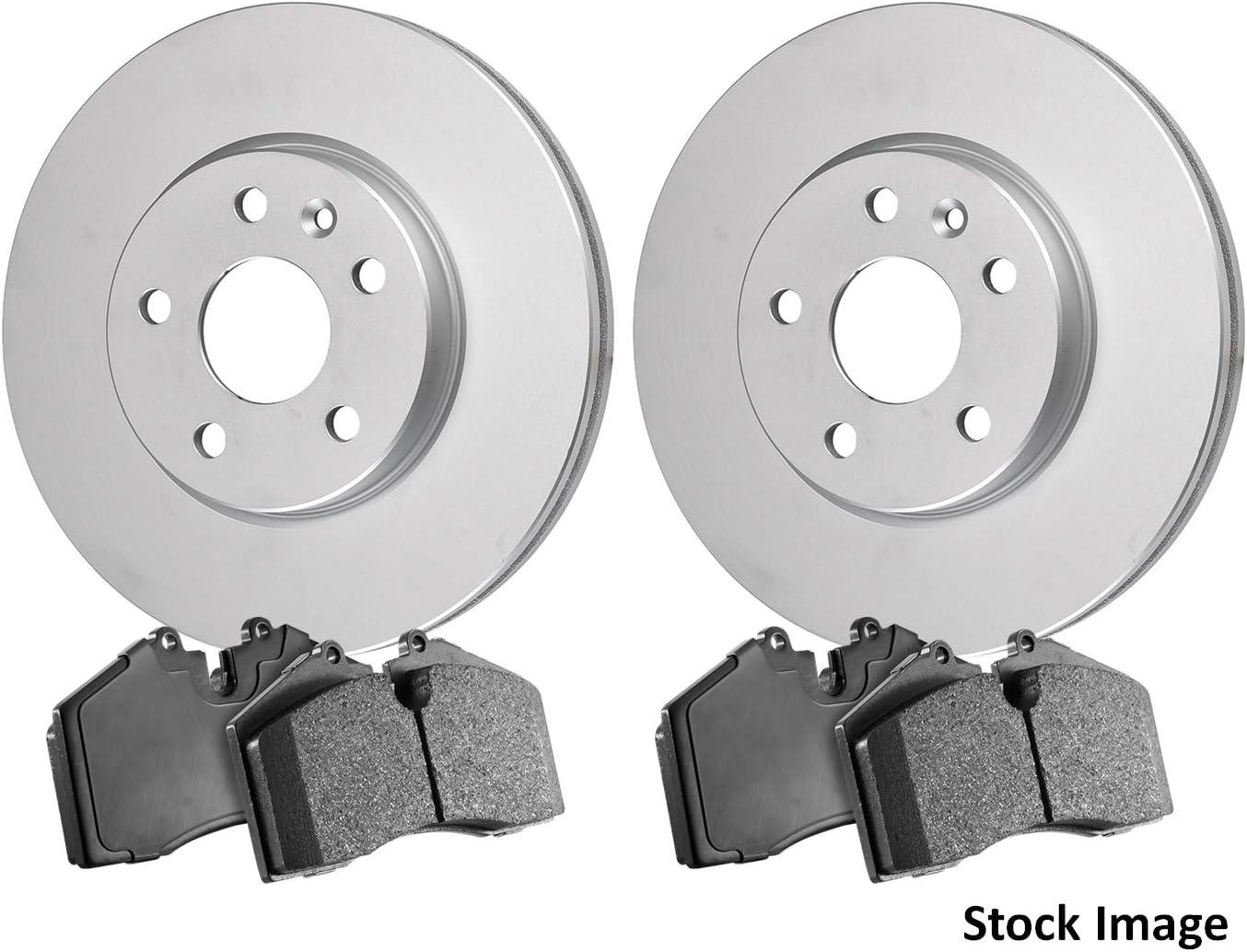 2013 For Mazda CX-5 Rear Anti Rust Coated Disc Brake Rotors and Ceramic Brake Pads Stirling
