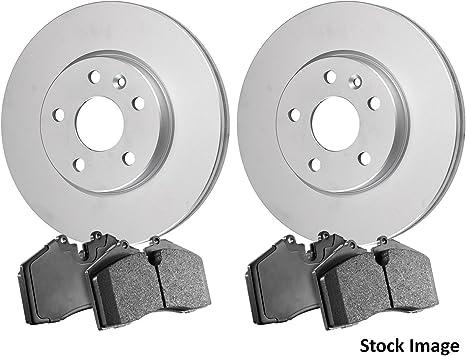 Power Stop KOE7516 Autospeciality Replacement Rear Brake Kit OE Rotors /& Ceramic Brake Pads