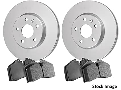 2007 For Ford Focus Front Anti Rust Coated Disc Brake Rotors