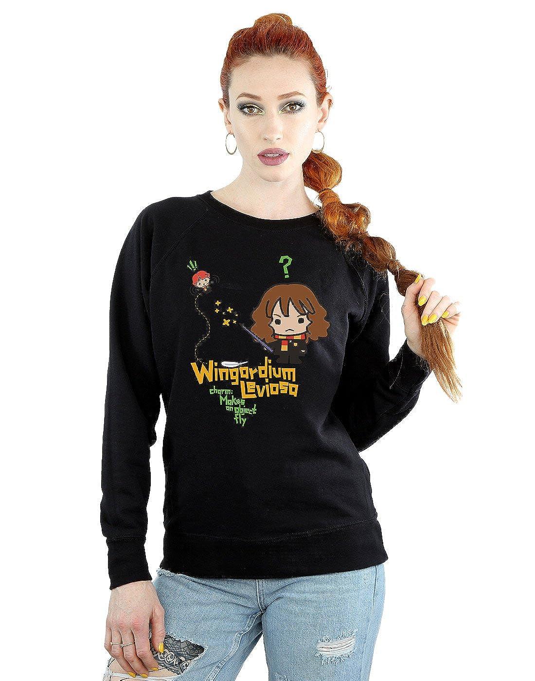 HARRY POTTER Mujer Hermione Granger Wingardium Leviosa Junior Camisa De Entrenamiento