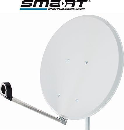 Smart SAT antena 55 cm Click-Clack Reflektormaterial: Stahl ...