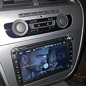 Phonocar 3/217 - Marco embellecedor para radio 2 DIN para VM080/VM101 Leon, color gris