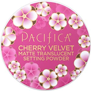 Pacifica Cherry Velvet Matte Setting Powder, 0.45 Ounce