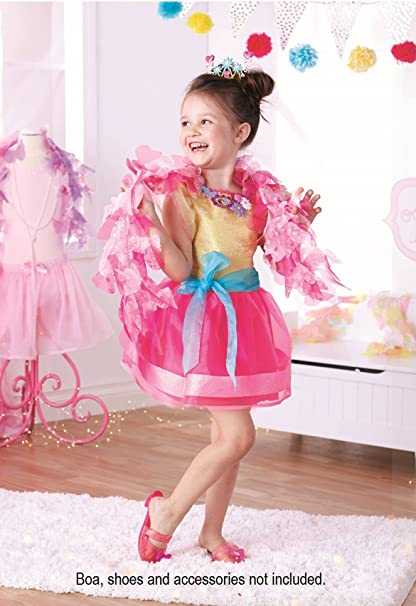 0ea2e7261ba832 Amazon.com: Fancy Nancy Signature Dress, Fits Sizes 4-6x: Toys & Games