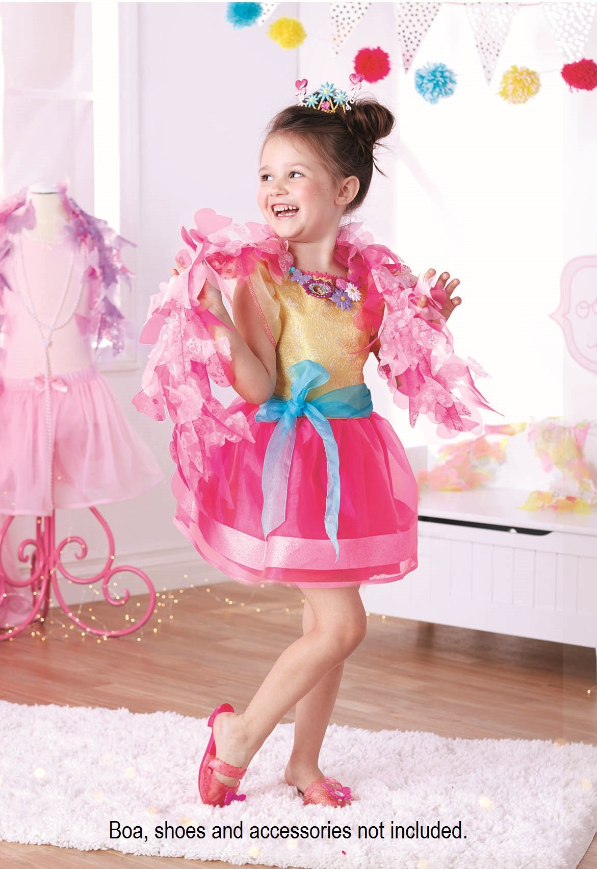 Fancy Nancy Signature Dress, Fits Sizes 4-6x