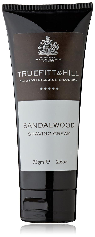 Truefitt & Hill 75g NUEVO tubo de crema de afeitado de madera de sándalo 553