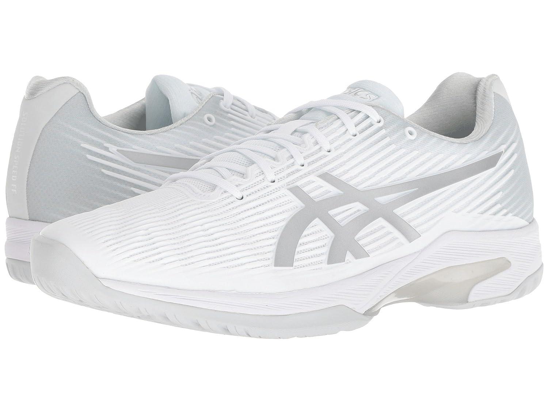 【待望★】 [アシックス] D ホワイト/シルバー メンズランニングシューズスニーカー靴 - Solution Speed FF [並行輸入品] B07L6WBKP6 ホワイト/シルバー 6 (24.5cm) D - Medium 6 (24.5cm) D - Medium|ホワイト/シルバー, ゴルフウェーブオンライン:29d26962 --- a0267596.xsph.ru