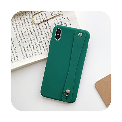 Amazon.com: Funda de silicona suave para iPhone XR X Xs Max ...