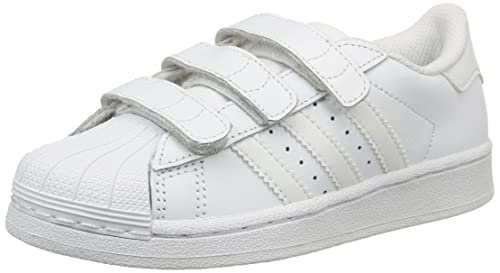 on sale cc4d3 251a8 adidas Superstar Foundation CF C, Zapatillas Unisex niño, Blanco Footwear  White, 28 EU  Amazon.es  Zapatos y complementos