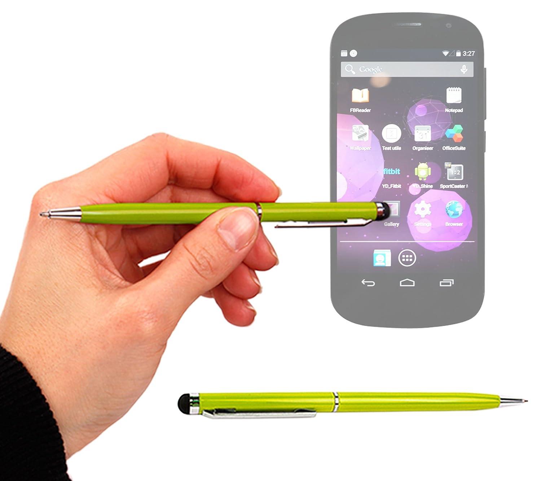 DURAGADGET 2つで1つSleek B00IXO0TJW YotaPhone SlimlineボールポイントペンinライムグリーンwithスタイラスEnd for for YotaPhone B00IXO0TJW, くまたんの店:e796238b --- itxassou.fr