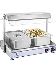 Royal Catering - RCHP-70 - Calienta Platos - 1100 W - hasta 110 °C - 70 x 50 cm - Envío Gratuito
