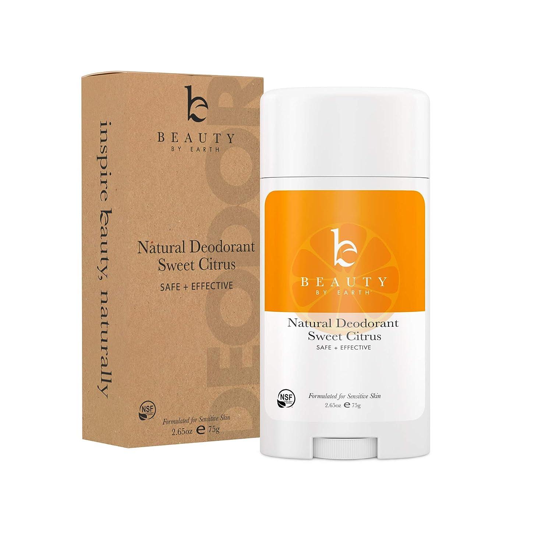 Natural Deodorant Sweet Citrus - Organic Deodorant for Women, Aluminum Free  All Natural Deodorants for Women and Mens Deodorant, Vegan Womens