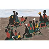 Jacob Lawrence Giclee Canvas Print Paintings Poster Reproduction(The migrants arrived in great numbers)