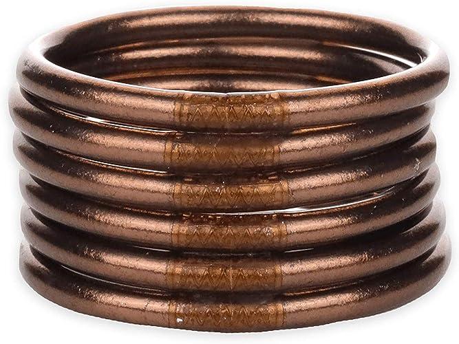Budhagirl Meteorite Brazaletes Para Todo Tipo De Clima Awb Oración De La Serenidad Latín Jewelry