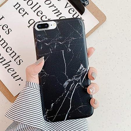 Saceebe compatible con iPhone 7 plus//8 plus Funda Silicona TPU Estuche Carcasa de TPU de m/ármol Flexible Silicona Cover Carcasa Anti-Choque Suave Ultra Delgado Bumper Protectora,Rosa