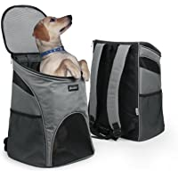 Becko 3 in 1 Scratch-resistant Pets Bag Carrier / Padded Pet Outdoor Backpack / Dog Travel Single-shoulder Bag with Mesh Window and Tuck Away Straps for Pet up to 10~18 Pounds