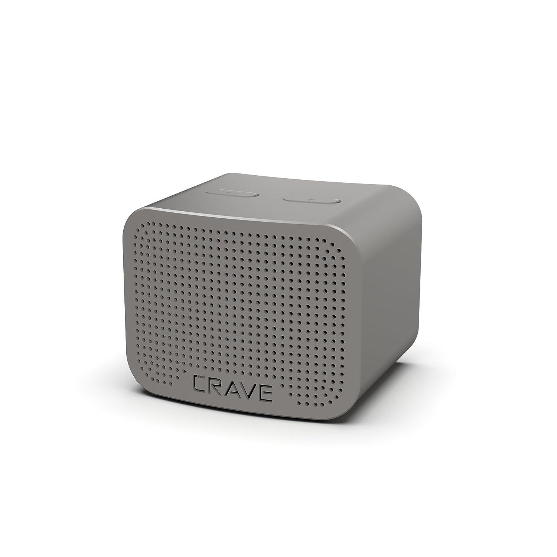 Crave Curve - Altavoz inalámbrico Bluetooth de 5 W con Sonido Mejorado, micrófono Integrado y Altavoz: Amazon.es: Electrónica