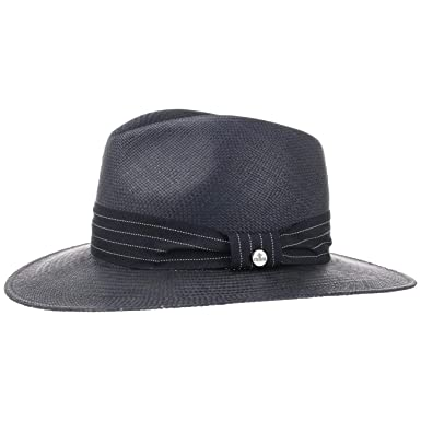 4c4cdef13f6 Lierys Blue Traveller Panama Hat Straw  Amazon.co.uk  Clothing