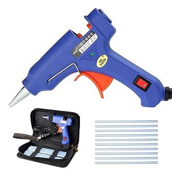 Inklusive 6 Klebesticks 11 mm TROTEC Hei/ßklebepistole PGGS 10‑230V F/örderleistung 15 g//min