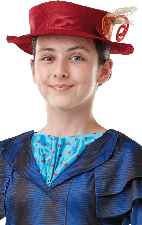 Rubies 640650 - Disfraz oficial de Disney Mary Poppins para niña ...