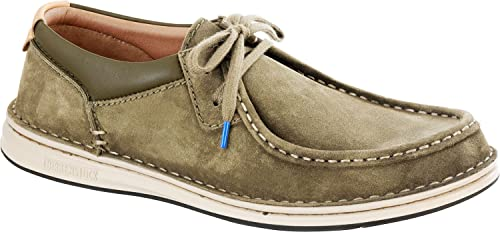 Birkenstock Mens Pasadena Suede Leather Lace ups Regular