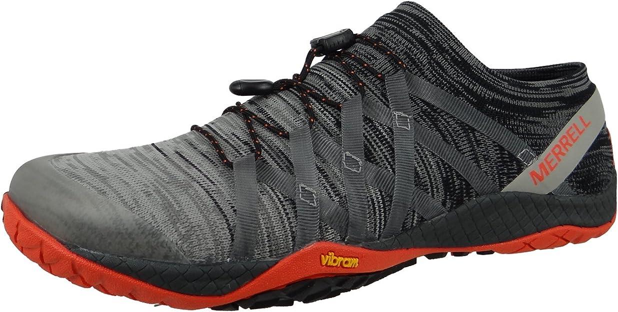 Merrell Trail Glove 4 Knit, Zapatillas de Running para Asfalto para Hombre, Gris (Charcoal), 41.5 EU: Amazon.es: Zapatos y complementos