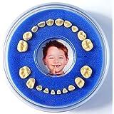 Lumage Firsty® Round - Caja de dientes (Azul)