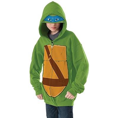 Teenage Mutant Ninja Turtles Leonardo Hoodie Costume, Small: Toys & Games