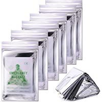 Emergency Thermal Blankets, Survival Reflective Thermal First Aid Foil Blanket for Camping and Emergency