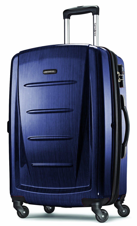 Samsonite Luggage Winfield 2 Fashion HS Spinner 24 (Navy)