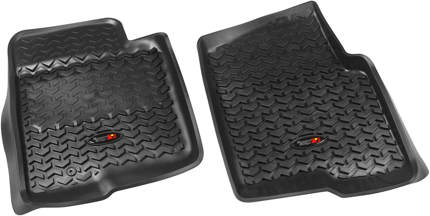Rear 1997-2008 Ford F-150 Extended Cab All Terrain Floor Liner 04-08 Super Crew Rugged Ridge 84952.11 Gray