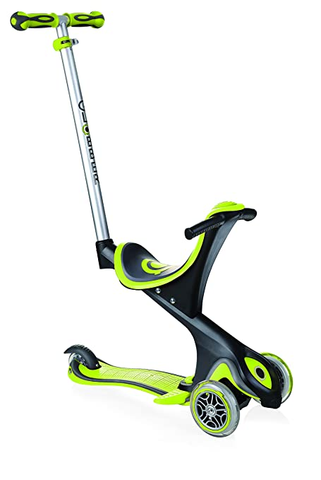 Amazon.com : Globber Evo Comfort (5 in 1 V2) 458-106 Lime ...